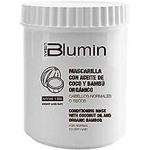 Blumin Mascarilla de Pelo/Mascarilla para el Cabello con Aceite de Coco y Bambú Orgánico