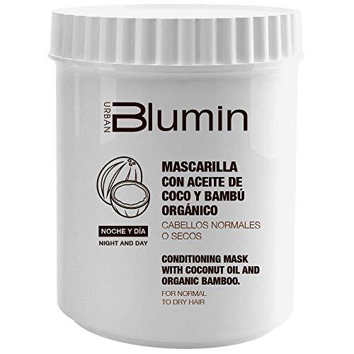 Blumin Mascarilla de Pelo/Mascarilla para el Cabello con Aceite de Coco y Bambú Orgánico, 700 ml