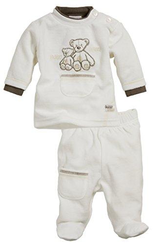 Schnizler Baby - Jungen Jogginganzug Nickianzug Bär mit Strampelhose, 2-teilig, Oeko-Tex S Preisvergleich