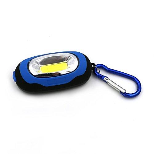 Tragbare Taschenlampe COB LED Nacht Licht Schlüsselanhänger Taschenlampe Flash Key kette Knopf Akku Geschenk Mini 25LM 3Modi