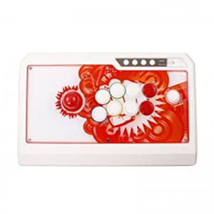 Joystick Fightstick Professionale Arcade QanBa Q4 RAF XBOX360/PS3/PC 3in1 White-red