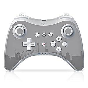 DeinDesign Skin Aufkleber Sticker Folie für Nintendo Wii U Pro Controller Fussball Fanartikel Mannschaft