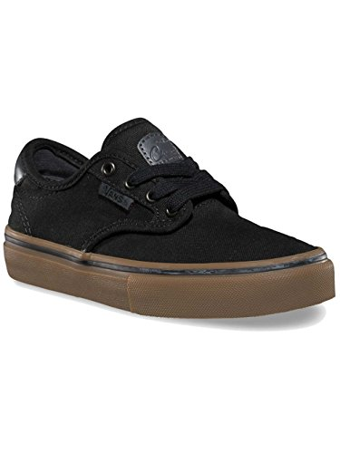 Vans Unisex Era, Baskets Basses Fille Black/Grey/Gum