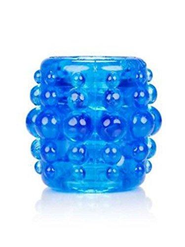 Oxball Slug Ballstretcher Silicone 72mm oder 54mm Farbe Blau oder Silber (BLAU 54mm)