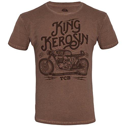 King Kerosin T-Shirt TCB Hazel Brown Brown