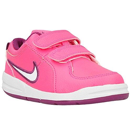 Nike Pico 4 (TDV), Pantofole Unisex – Bimbi 0-24, Rosa (Pink Pow/White/Bold Berry 606), 22 EU