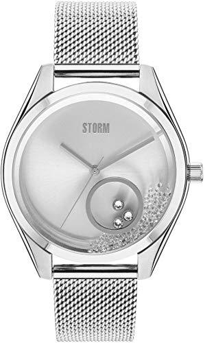 Storm London Krissy Silver 47398/S Reloj de Pulsera para Mujeres