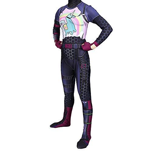tüm Superhelden Cosplay Verkleidung Halloween Mottoparty Strumpfhosen 3D Druck Spandex Onesies,Woman-XXXL ()