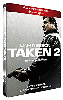 Taken 2 métal [Combo Blu-Ray + DVD-Édition Limitée boîtier SteelBook] (B00A82800C) | Amazon price tracker / tracking, Amazon price history charts, Amazon price watches, Amazon price drop alerts