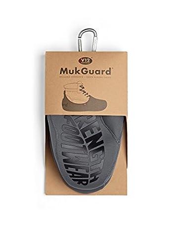 V12 Mukguard, Re-Usable Overshoe, L (09/10 UK 43/44 EU), Grey