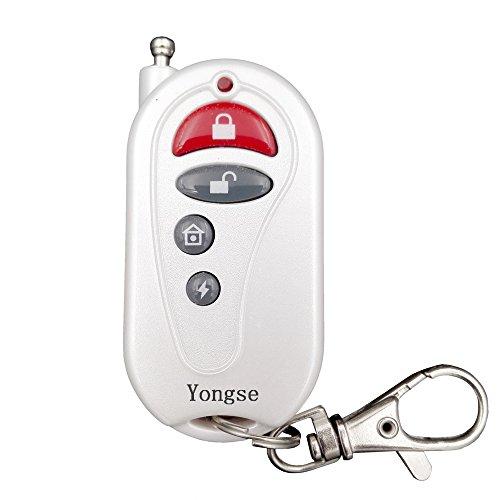 Preisvergleich Produktbild Yongse Fernbedienung für Funk Alarmanlagen, Weiß