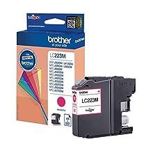 Brother LC223M Cartuccia InkJet Originale Alta Capacità, fino a 550 Pagine, per Stampanti MFCJ4420DW, MFCJ4620DW, MFCJ5320DW, MFCJ5620DW, MFCJ5720DW, DCPJ562DW, MFCJ480DW, MFCJ680DW, Magenta