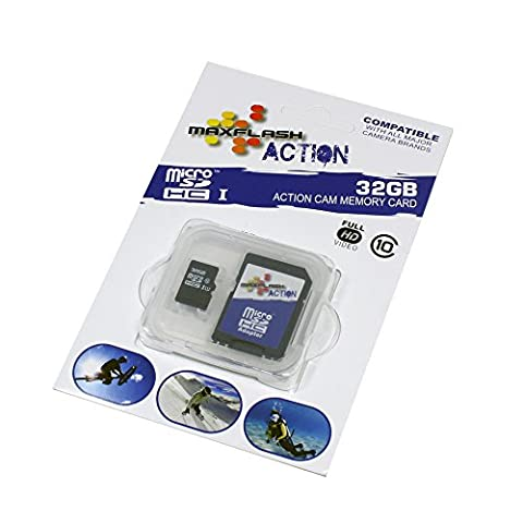 32Go Carte mémoire pour Sony Xperia T3 (micro SD, adaptateur inclus)