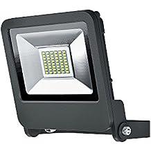 Osram LED Endura Flood Fluter, für Außenanwendungen, Warmweiß, 163, 0 mm x 186, 0 mm x 34, 0 mm