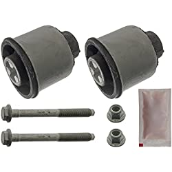 febi bilstein 31722 Axle Beam Mounting Kit with bolts, nuts and grease, pack of one