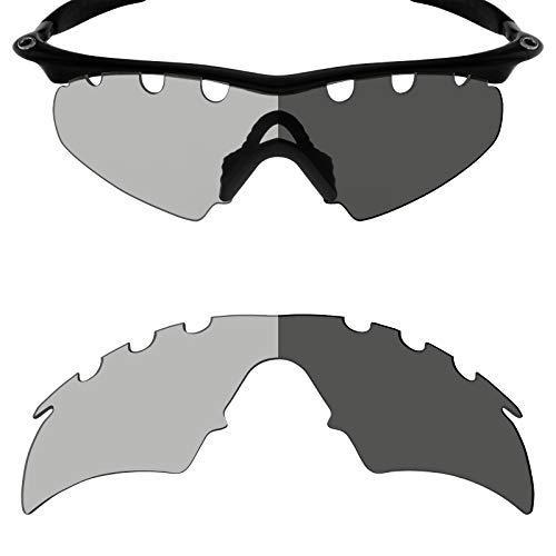Mryok Ersatzgläser für Oakley M Frame Hybrid Vented - Options, (Polarized - Grey Photochromic), Einheitsgröße