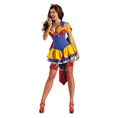 Sttsale Halloween Kostüm Mädchen, Fairy Snow White Smoking Cosplay Königin Spiel Uniform, Halloween Kostüm