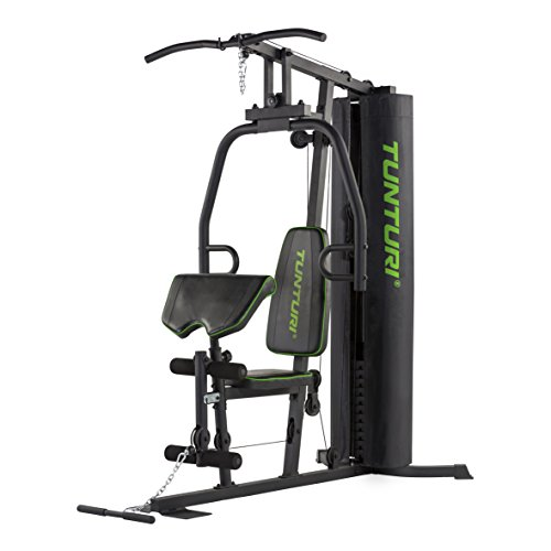 Tunturi HG20 Home Gym Kraftstation, Schwarz, 1