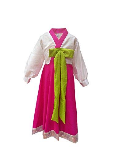 Kaku Fancy Dress Kids Korean International Traditional Wear Girl Costume & Fancy Dress