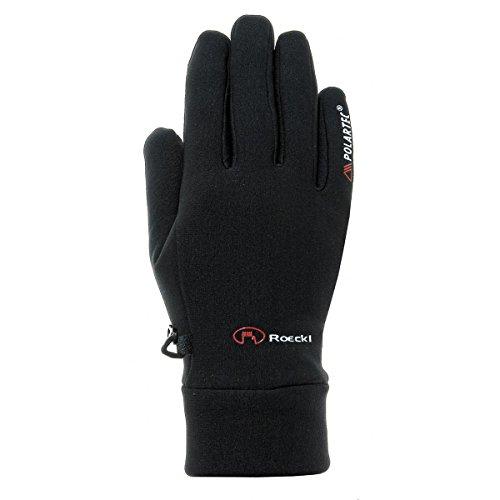 Roeckl Polartec Powerstretch Kasa schwarz (Größe Rahmen: 7) Handschuhe lange
