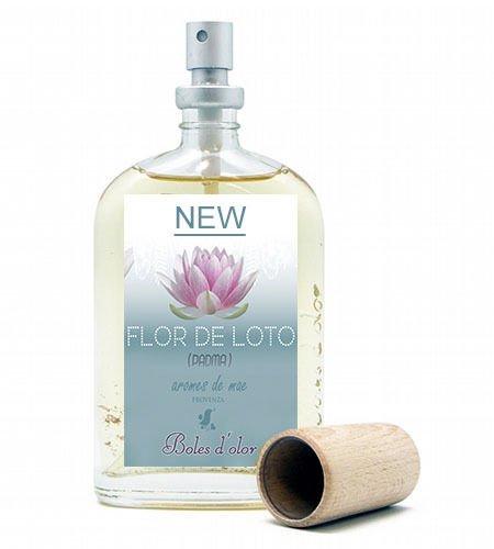 Ambientador spray Boles de olor Flor de Loto, 100 ml.