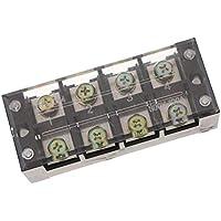F Fityle 1 Pc Doppel-Reihe Position Schraub-Klemmleiste 600V 100A Für Flachbandkabel