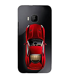 FUSON Fast Generic Sports Car 3D Hard Polycarbonate Designer Back Case Cover for HTC One M9 :: HTC One M9S :: HTC M9
