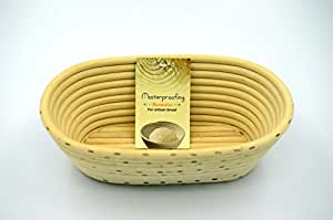 MASTERPROOFING® 500g Oval Banneton Basket