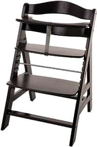 hauck 662823 hochstuhl alpha black washed baby. Black Bedroom Furniture Sets. Home Design Ideas