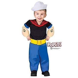 Orginial Popeye Kleinkinder Kostüm - 98/104