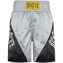 BENLEE Rocky Marciano para hombre boxeo Bona Venture Negro negro / gris Talla:medium