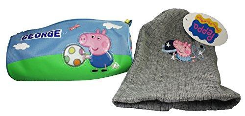 Peppa Pig: GEORGE y Mr dinosaurio estuche con sombrero
