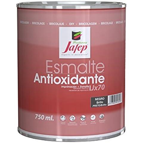 Jafep JX 70 - Esmalte antioxidante (750 ml) color negro