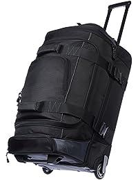 AmazonBasics Ripstop Wheeled Duffel