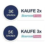 SicurezzaPrima® EasyProtect – der selbstklebende Eckenschutz und Kantenschutz aus Silikon, transparent, 20er Pack - 2