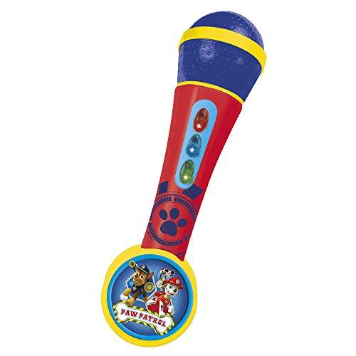Paw Patrol - Micrófono de mano con amplificador Patrulla Canina (Clau