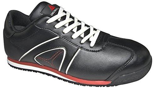 Delta Plus D-Spirit S3-Scarpe da ginnastica di sicurezza da lavoro con punta di materiale composito Nero (nero)