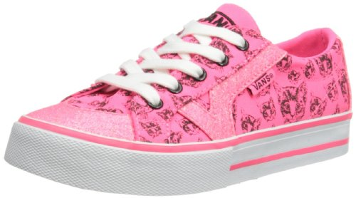 Vans Tory, Baskets mode filles Rose (Neon Pi)