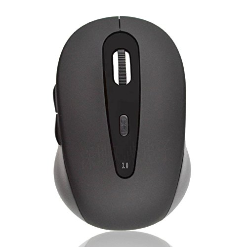 cewaal Maus kabellos Optische Bluetooth 3.0 USB 1000 dpi Wireless Gaming Mouse für Apple Mac MacBook Windows 7/XP/Vista Laptop für professionellen Spielern (Apple Wireless Mouse Für Laptop)