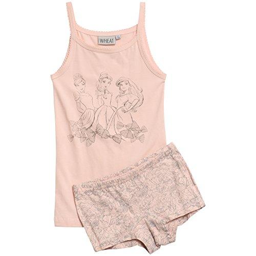 Wheat Mädchen Girls Unterwäsche-Set Princess Cinderella Disney, Rosa (Powder 2400), 128 (H Preisvergleich