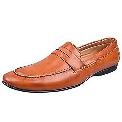 Andrew Scott Mens Beige Loafers