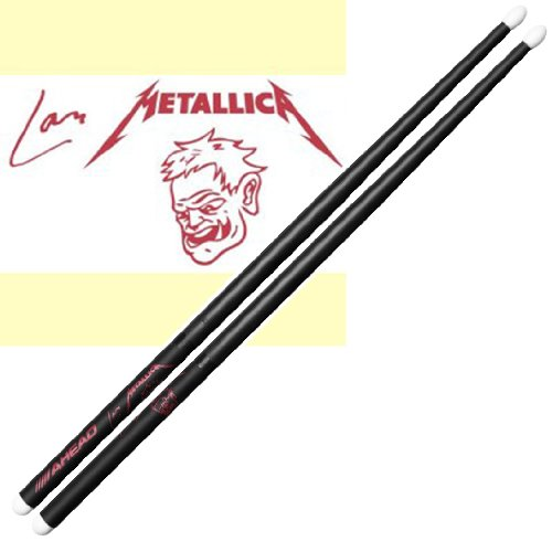 AHEAD LU-SGL Lars Ulrich Scary Guy Limited ed. Signature Drumsticks (Ed Limited S/n)