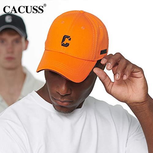 Mond-baseball-jersey (Hut Herren Mode Lässig Brief Baseball Cap Baseball Cap Fashion Sonnenhut Orange M (56-58cm))