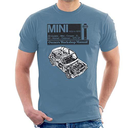 Haynes Workshop Manual Mini 1959 Men's T-Shirt