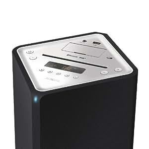 philips dtb3185 12 tour de son 2 1 bluetooth avec station d 39 accueil double connecteur apple. Black Bedroom Furniture Sets. Home Design Ideas