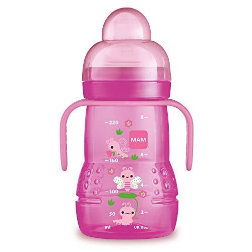 MAM Baby Products 62838222 ,Baby Trinklernflasche,4+ Monate, Farblich Sortiert
