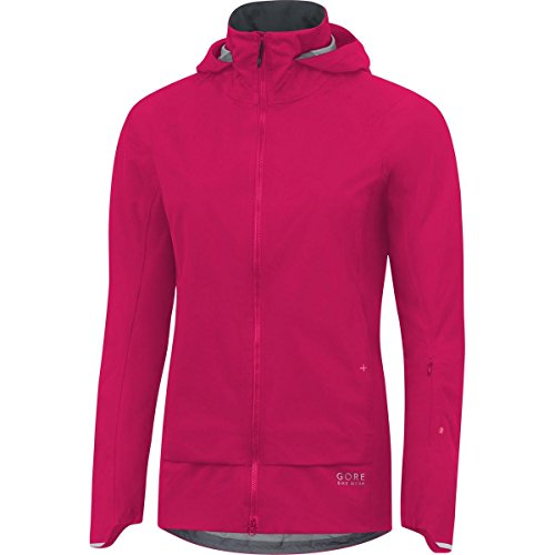 Gore Bike WEAR Damen Mountainbike-Jacke, Super Leicht, Gore-TEX Active, Power-Trail Lady GT AS Jacket, Größe: 40, Pink, JGAFEE -