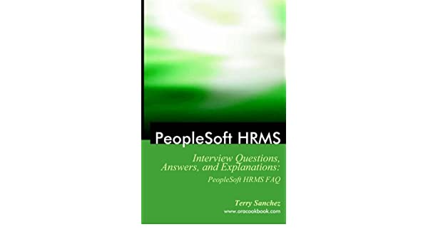 Peoplesoft Hrms Related Interview Questions