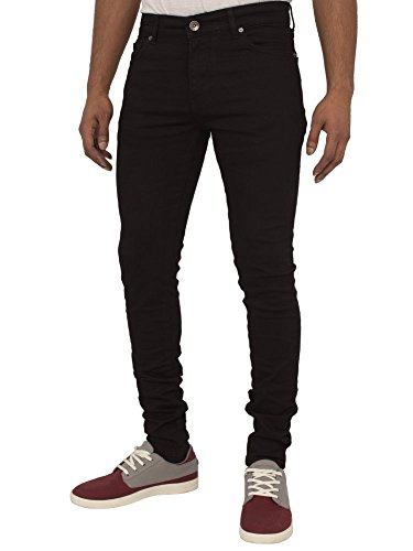 Enzo New Designer Super Skinny Stretch Jeans For Men – Denim – Range Of Waist Sizes and Colours Available