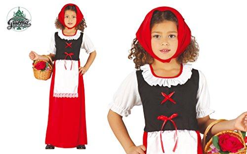 Imagen de disfraz de pastorcita roja infantil 3 4 años